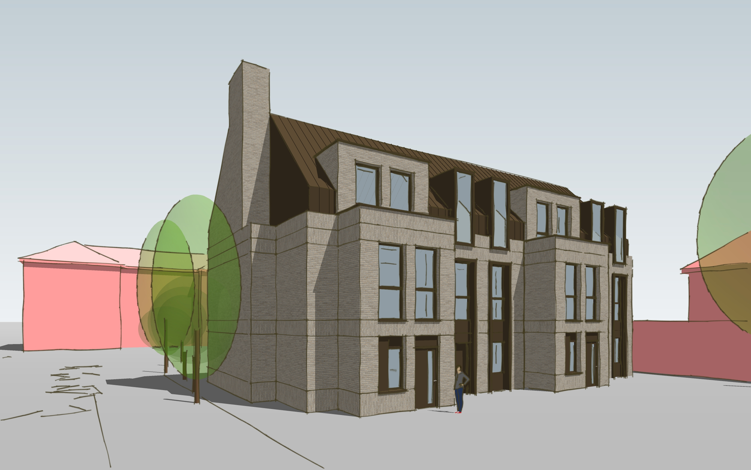 New Build Architecture Townhouses